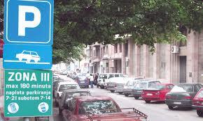 slika sa beogradskih ulica - kako prepoznati zonu na ulazu u parking u centru Beograda - BGD apartmani Beograd