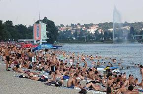 Ada ciganlija Beogradsko more